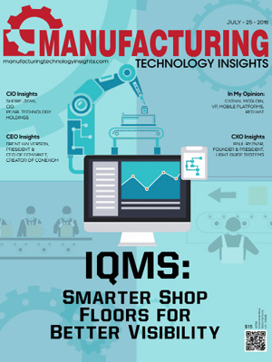 IQMS: Smarter Shop Floors for Better Visibility